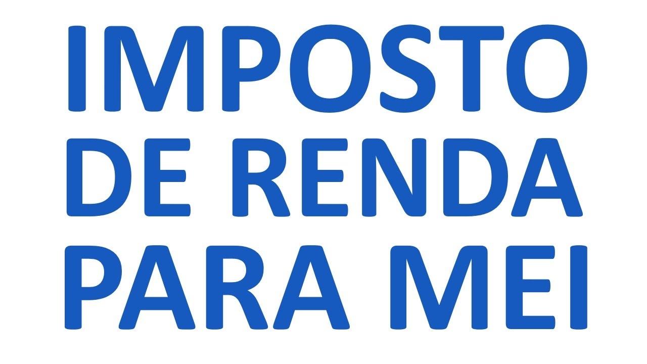 Imposto de Renda MEI 2022
